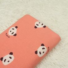 Lovely Panda Printed Cotton Fabric DIY Plain Sewing Patchwork Needlework Quilting Cloth Material Handmade Crafts