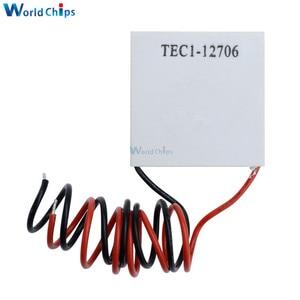 Image 5 - Peltier refrigerador termoeléctrico TEC1 12706, lote de 50 unidades, 12706 TEC, 12V, nuevo TEC1 12706 de refrigeración de semiconductores, Peltier Elemente