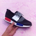 2017 fashion brand casual thick base shoes mixed colors lace-up man casual shoes 38-45