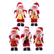 Christmas Electric Dancing Music Santa Claus Doll Christmas Decorations for Home Xmas Gift for Kids Natal Navidad Supplies