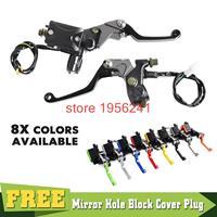 Universal 7 8 Brake Master Cylinder Reservoir Lever For Yamaha YZ80 85 YZ125 YZ250 YZ250F YZ450F