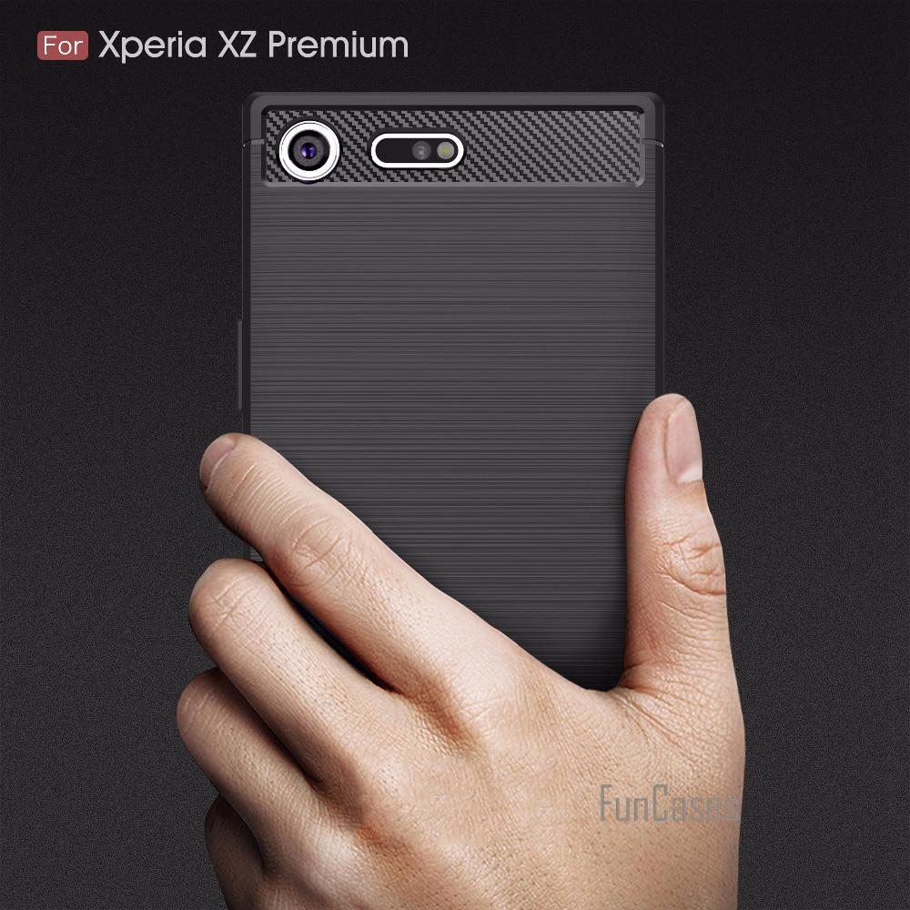 Soft Fitted Case sFor fundas Sony Xperia XZ Premium Case Cover sFor Sony XZ Premium Case 5.5 inch ajax telefoon hoesjes caso