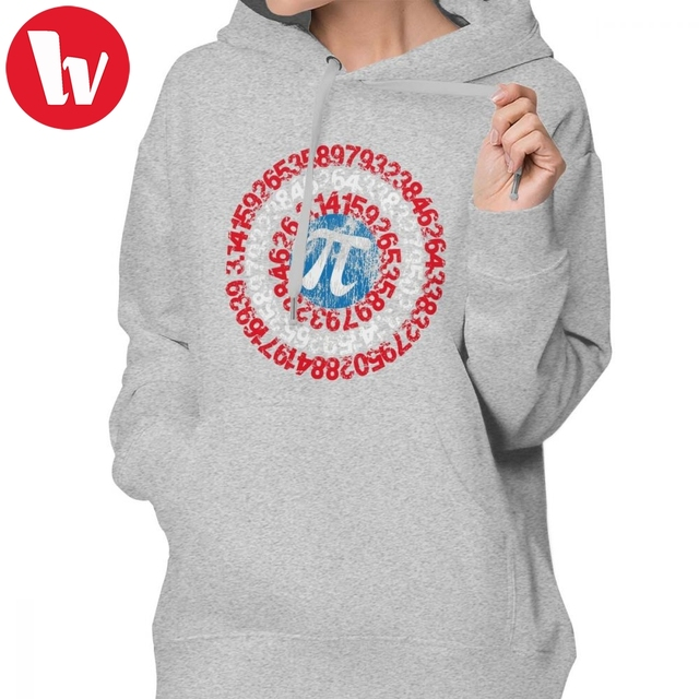 Superhero Shirts For Women Hoodie Captain Pi Funny Pi Day Superhero Style For Math Geeks And Nerds Hoodies Blue Printed Hoodies