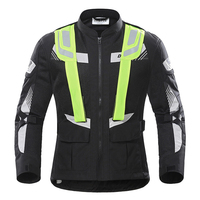 Summer Motorcycle Jacket DUHAN 2018 Cordura Fabric Men Racing Mesh Jacket 3M Breathable Motocross Clothes Rally Travelling