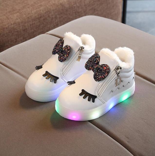 Winter LED Schoentjes 2