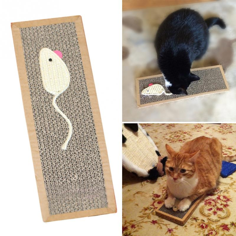 Pet Cat Sisal Hemp Cat Scratch Board Scratching Post For Pet Products Supplies