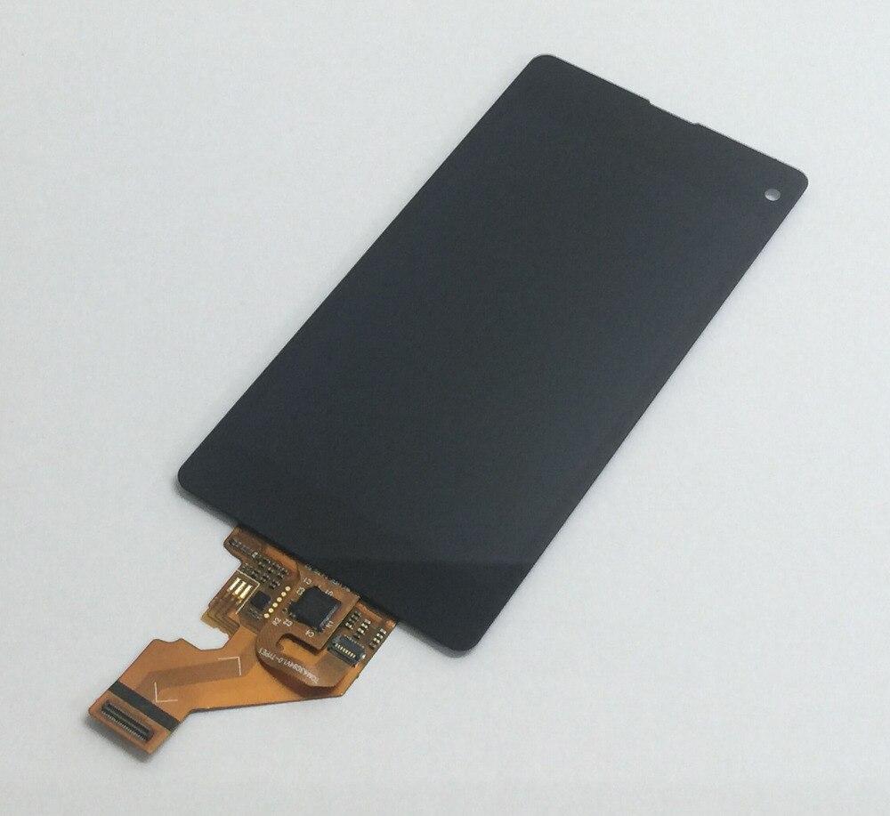 Noir Pour Sony Xperia Z1 Compact D5503 Z1 mini Écran Tactile Digitizer Capteur En Verre + LCD Affichage Moniteur Module Panneau l'assemblée