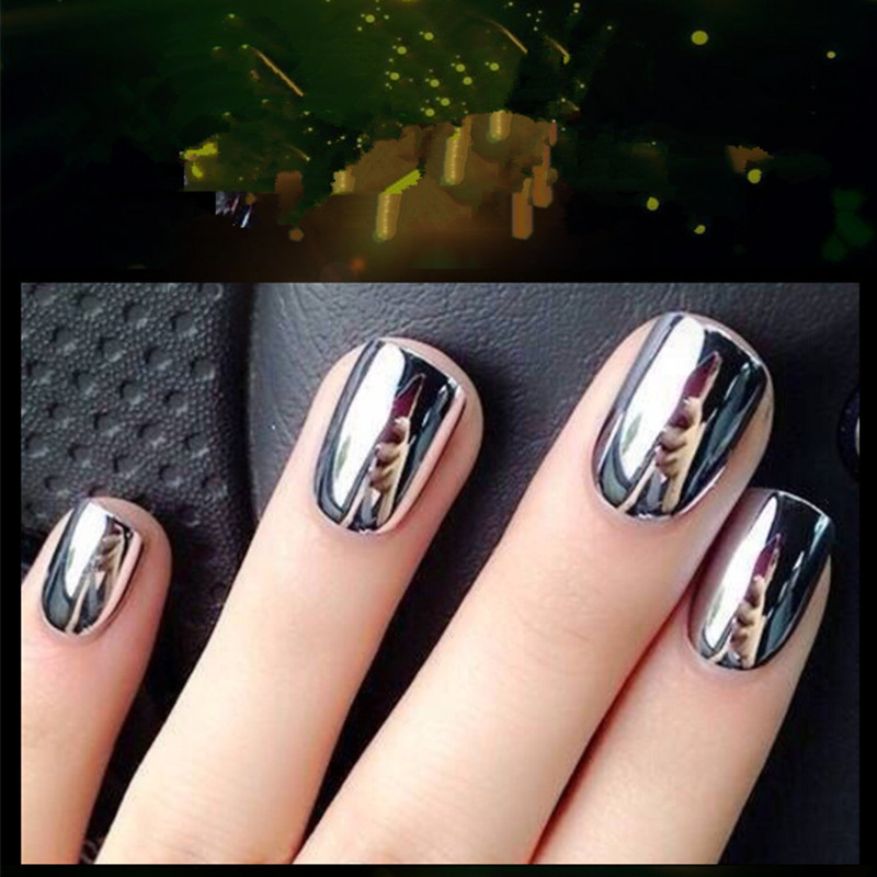 Very Me Metallic Nail Polish Shades: Aliexpress.com : Buy 1PCS Metallic Nail Polish Silver