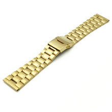 High Quality Silver 18mm 20mm 22mm 24 mm Solid Stainless Steel Watchbands Strap Bracelet For Men Women Watches Replacement high quality silver 18mm 20mm stainless steel watchbands strap bracelet for men women watches replacement with spring bars