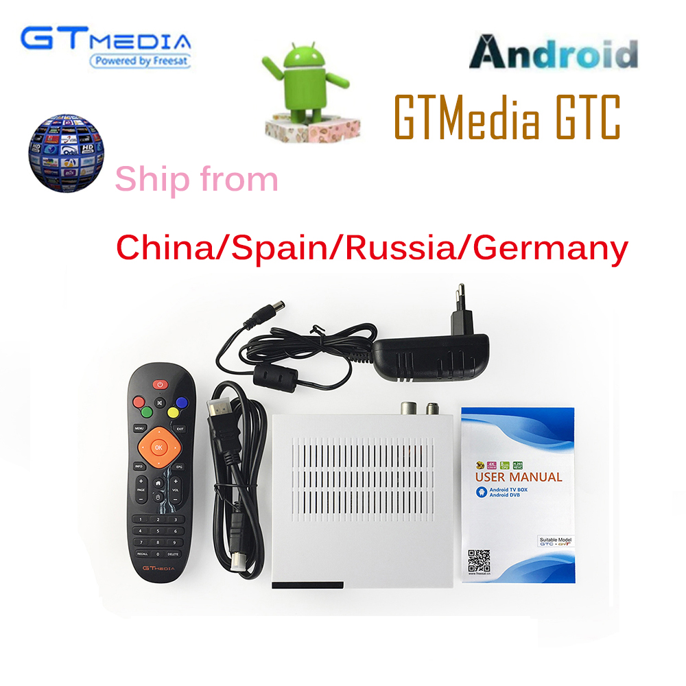 все цены на GTC Satellite Receiver DVB-S2 DVB-C DVB-T2 ISDB-T Amlogic S905D android 6.0 TV BOX 2GB RAM 16GB ROM BT4.0 + 3/6 months IPTV онлайн