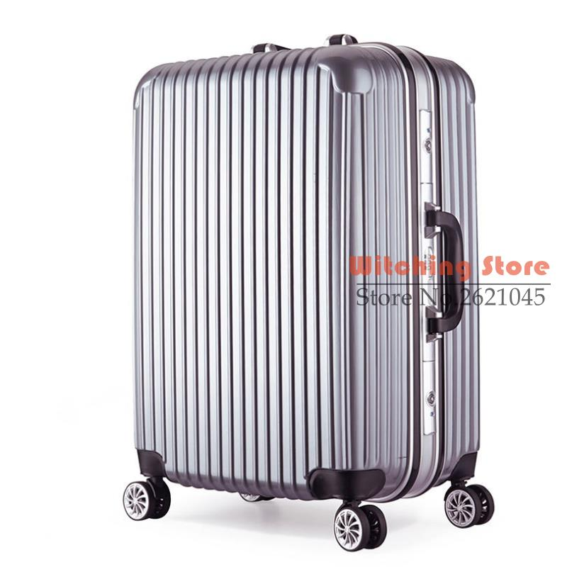 24 inch 2022242628 direct sales of pure pc aluminum frame rod universal luggage box 20