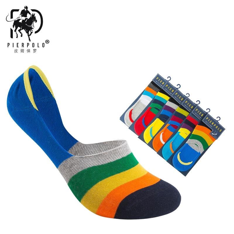 6 Pair Unisex Women Men Loafer Boat Socks Non-Slip Invisible No Show Nonslip Liner Low Cut Soft Breathable Cotton Short Socks