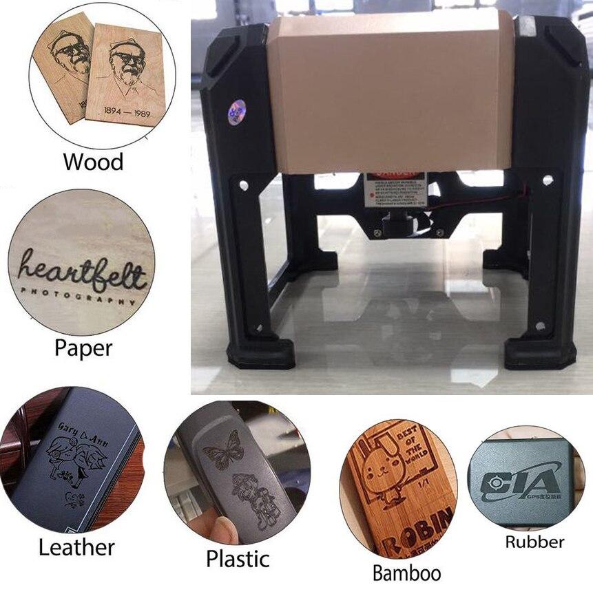 Printing & Graphic Arts Aspiring New 3000mw Laser Engraving Machine Wood Carving Desktop Engraver Cutter Printer Engraving