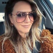 HBK Unisex Pilot Sunglasses Modis Oculos De Sol feminino 201