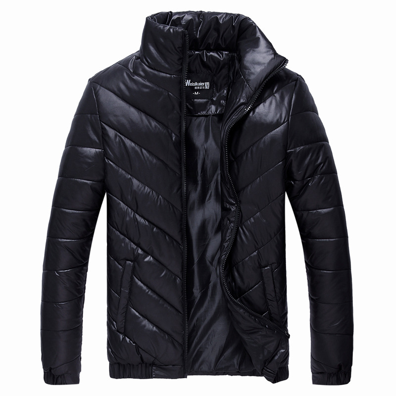 2015 New Brand Winter Jacket Men Parkas Warm Jacket Casual Parka Men Cotton Padded Jacket Casual