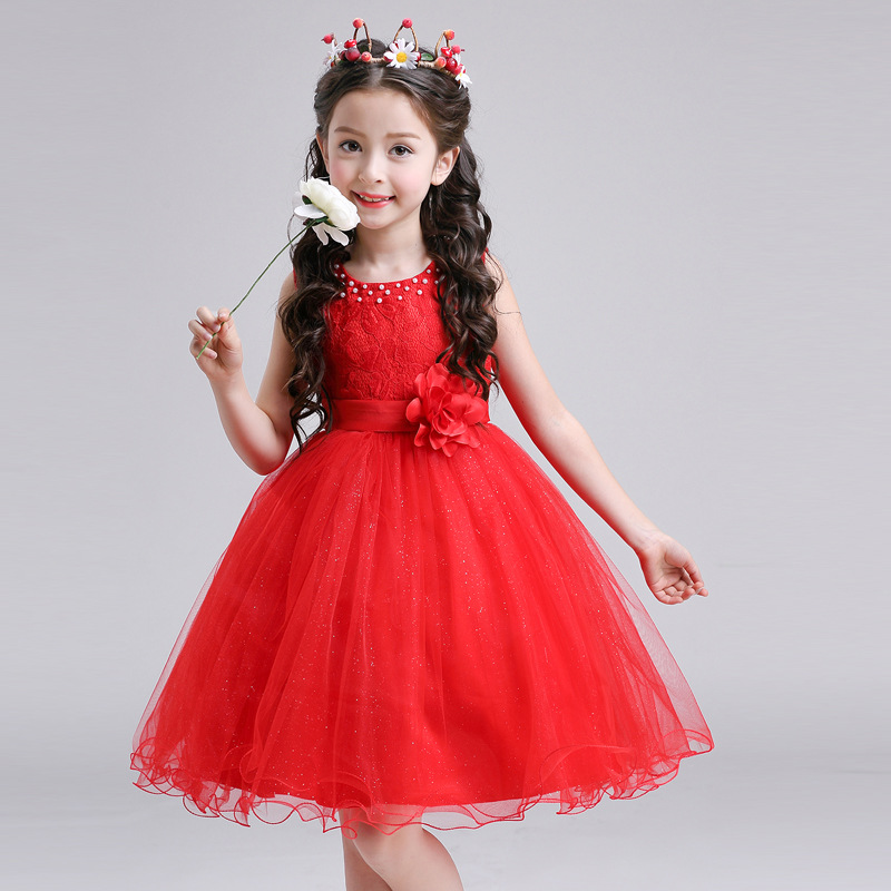 Red Princess Dresses for Girls