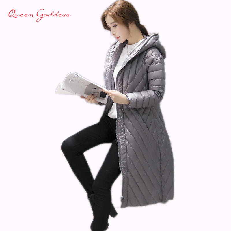 2017 winter new popular from the world duck down parkas female down jacket worm long coat hooded outerwear ultra light clothes from the new world vol 3