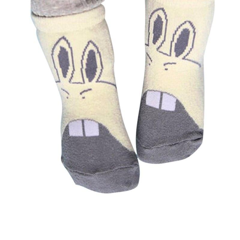 Baby Infant Soft Socks Newborn Girls And Boys Cartoon Cute Crib Socks For Winter S/M Socks