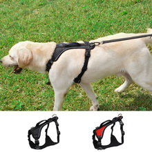 Dog Harness Soft Padded Vest no pull Reflective Strap Easy Control Handle for Medium and large Walking