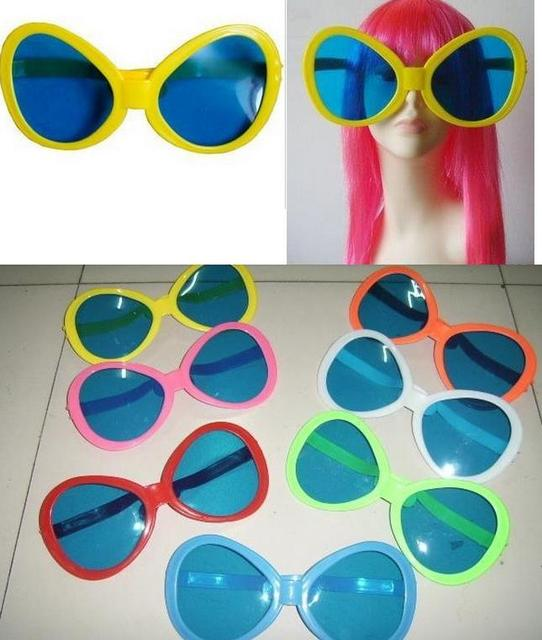 Ridiculous Sunglasses  giant joke sunglasses ridiculous club party costume fancy dress