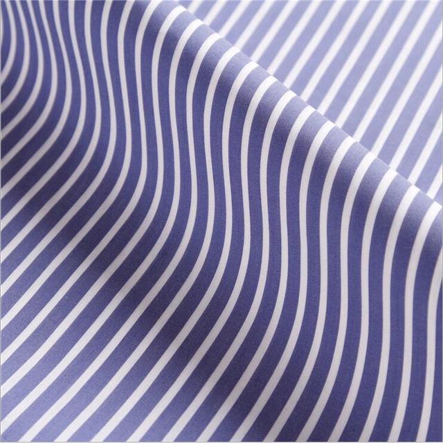 Tissus de chemises à rayures verticales | Teints à fils, tissu de loisirs élastique, spot, popeline de coton teint en fils, fabricants de tissus