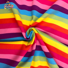 German design cloth Lycra cotton fabric four way stretch stripes sky DIY apparel Sewing Patchwork child clothes quilts home
