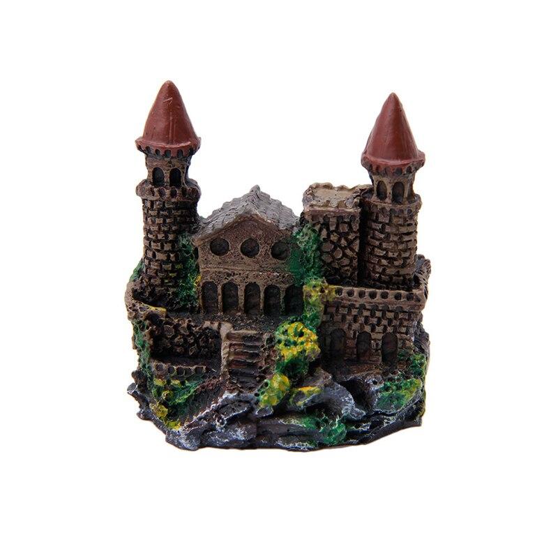 Castle aquarium ornament promotion shop for promotional for Fish tank castle