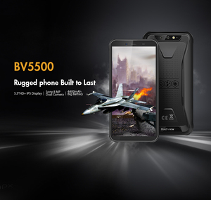 "Image 2 - Blackview BV5500 Cep IP68 Su Geçirmez Smartphone 5.5 ""Ekran 2 GB RAM 16 GB ROM Android 8.1 MTK6580P Dört Çekirdekli 1.3 GHz 8MP 3G OTG"