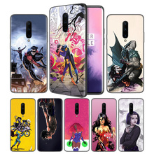 Titans TV Shows Soft Black Silicone Case Cover for OnePlus 6 6T 7 Pro 5G Ultra-thin TPU Phone Back Protective