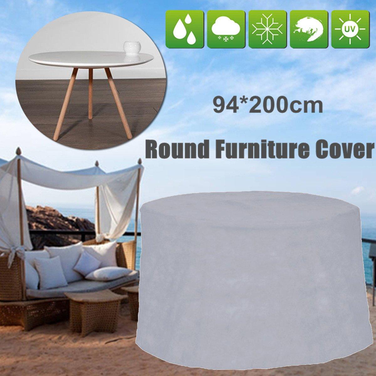 200x94cm ao ar livre mobiliário de jardim