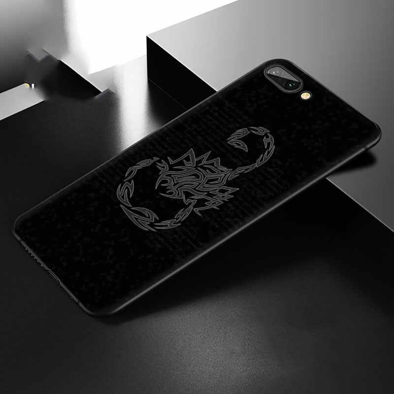 สัตว์ปูแมงป่องSoft TPUฝาครอบโทรศัพท์สำหรับHuawei Honor 6A 7X 8A 8X 8C 9X 8 9 10 lite 20 30 V30 Proหมายเหตุ 10 ดู