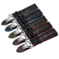 Genuine Calf Leather Watchband Watch Band Strap for Omega Tissot for Tudor Bracelet for Mido Casio Seiko 18mm 20mm 22mm +Tools