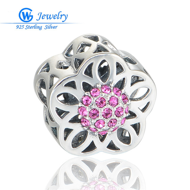 Trendy Lovely Heart Flower Girl Charm Sterling 925 Silver Jewelry Hollow Out Charms Hot Selling Gw Fine Jewelry X391H20