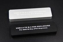 New USB 3.0 à M.2 M-Clé PCI-Express SSD disque dur ENCEINTE boîte Pour ssd M-clé (PCI-Express) soutien 2230/2242/2260/2280