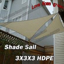 Пнд вс-тени треугольная парус комбинация тент навес тень оттенок чистой палатка