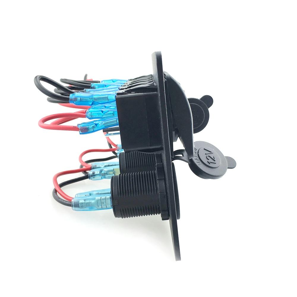 IZTOSS Digital Voltmeter + 12V Steckdose + Doppel USB USB Ladegerät - Autoteile - Foto 5