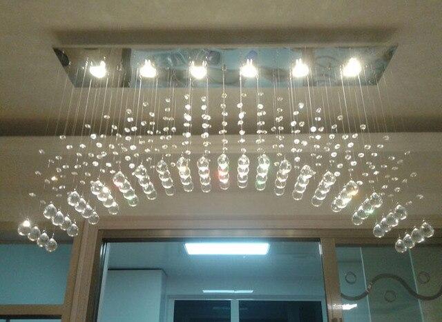 Led moderne eenvoudige verlichting bar tafellamp kristallen