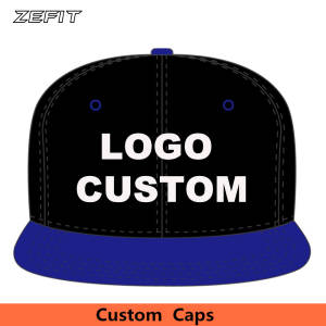 ZEFIT Custom Snapback Baseball Caps Embroidery Kids Hats