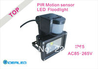Best Price LED Floodlight Whit PIR Motion Sensor Induction Factory Outlet LED Landscape Lighting