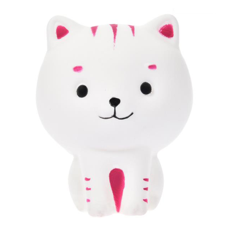 2020 Cute Cartoon Milk Cat Kitty Squishy Slow Rising Soft Squeeze Toys Cream Scented Stress Relief For Kid Xmas Gift 8.5*6.5CM