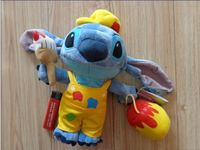 Original Stitch Painters Plush Toys 25CM Kawaii Stitch Stuffed Toys For Children Gifts Kids Toys