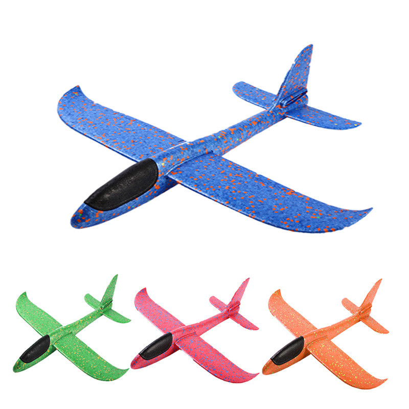 2019 Diy Hand Throw Flying Glider Planes Toys For Children Foam Airplane Model Party Toys Game