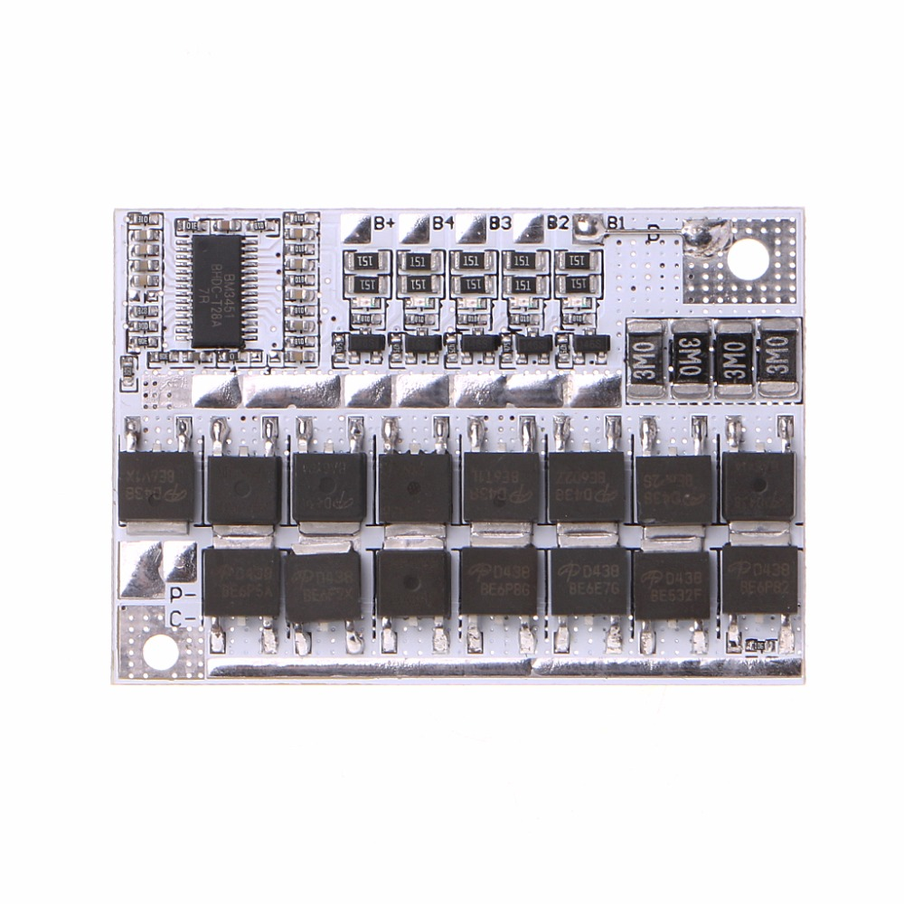 12V 100A 4S BMS Li-ion LiFePO4 LiFe LMO Lithium Battery Protection Circuit Board