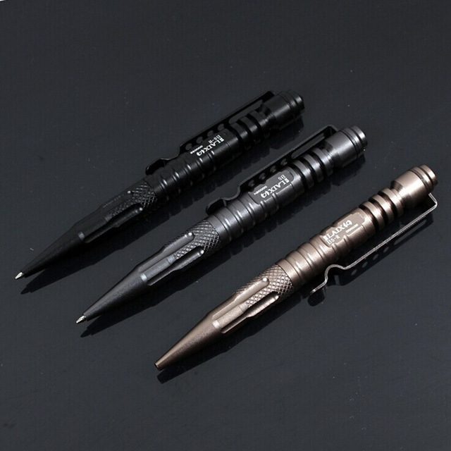 Self Defense Personal Tactical Survival Pen Life-saving Aviation Aluminum Portable Multi-function Outdoor Camping Tool