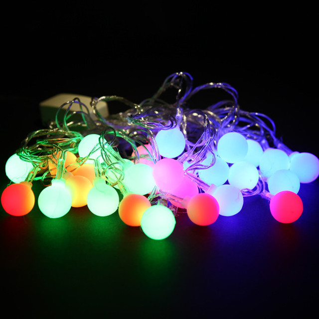 luces navidad led 5 m srar copper christmas lights outdoor snowflake flicker color led fence string