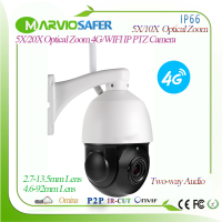 1080P 4G CCTV PTZ Network wifi IP Camera 2MP Wireless IPCAM Camara SIM Card 2.7 13.5mm 5X / 4.6 92mm Optical Zoom Lens, Onvif