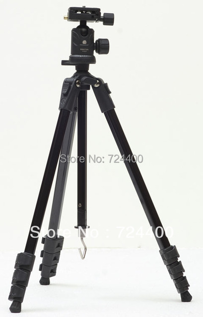 2014 Special Offer Real Aluminum Motorcycle [drop Shipping] Kanton Professional Tripod Kt-3010 with Ball Head for Camera Dslr