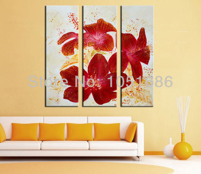 Famous Large 3 Piece Canvas Wall Art Pattern - Wall Art Design ...