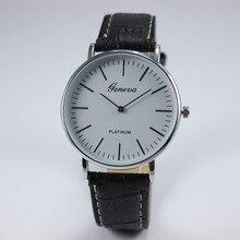 Lovesky 2016 New Vogue Unisex Ladies Males Fake Leather-based Analog Quartz Wrist Watch Freeshipping & Wholesale