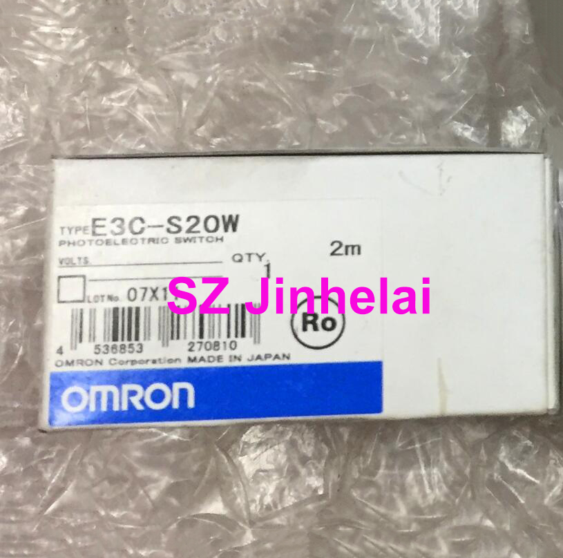 Authentic original E3C-S20W OMRON Photoelectric switch sensor 2M original sensor e3c jc4p